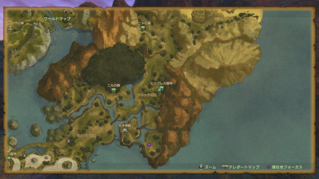 ヒックレル森林の夢幻迷宮