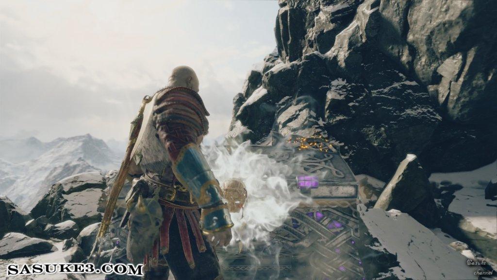 山頂へ_紫の宝箱1