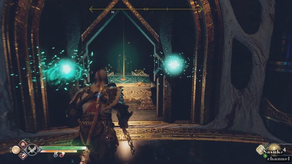 テュールの神殿_中央‗伝説の宝箱1