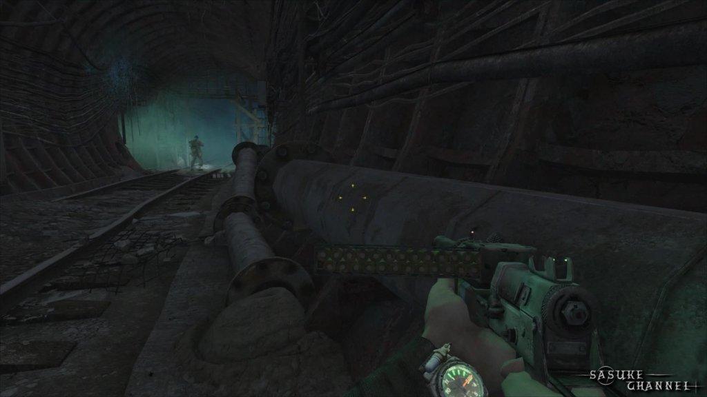 荒廃したトンネル_カルマイベント1