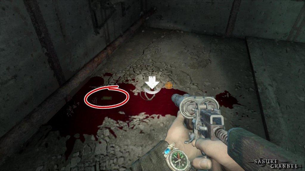 荒廃したトンネル_軍用弾1